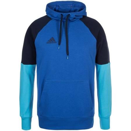 BLUZA adidas CONDIVO 16 HOODY niebieska /AB3157
