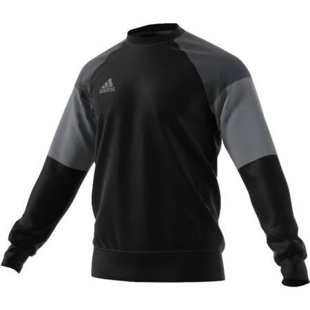 BLUZA adidas CONDIVO 16 SWEAT TOP czarno/szara AN9887