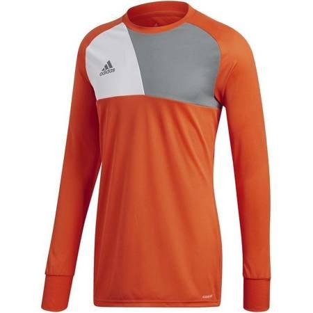 Bluza bramkarska dla dzieci adidas Assita 17 GK JUNIOR pomarańczowa AZ5398/AZ5402