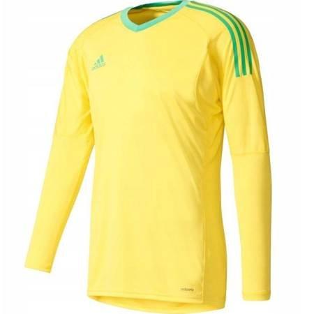 Bluza bramkarska dla dzieci adidas Revigo 17 GK JUNIOR żółta AZ5390