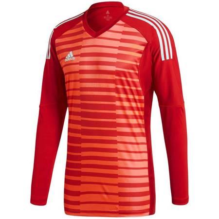 Bluza bramkarska męska adidas AdiPro 18 GK LS czerwona CY8478