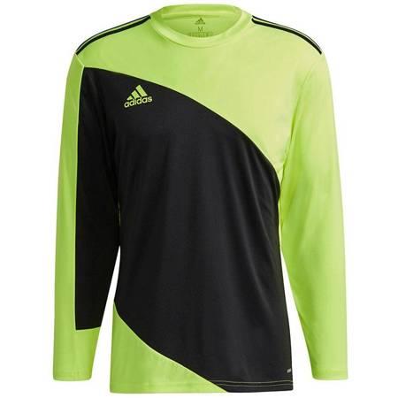 Bluza bramkarska męska adidas Squadra 21 Goalkeeper Jersey czarno-limonkowa GN5795