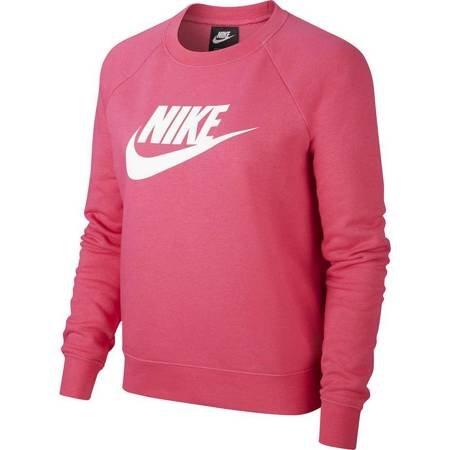 Bluza damska Nike Essentials Crew FLC HBR różowa BV4112 674