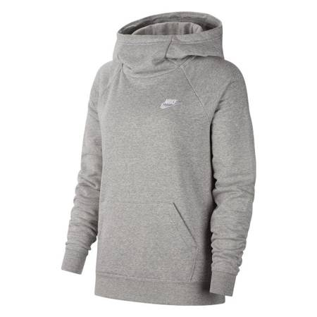 Bluza damska Nike Essentials Fnl Po Flc szara BV4116 063