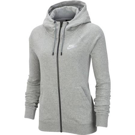 Bluza damska Nike Essentials Hoodie FZ FLC szara BV4122 063