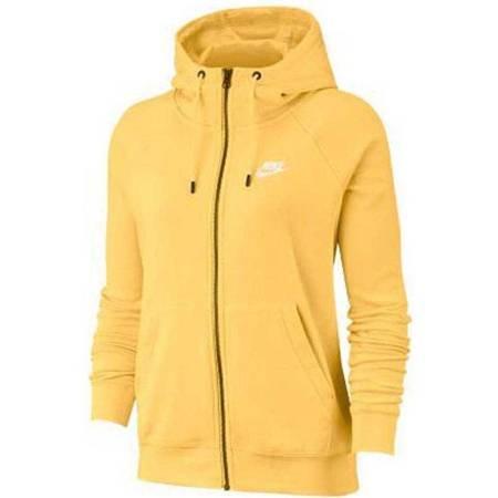 Bluza damska Nike Essentials Hoodie FZ FLC żółta BV4122 795