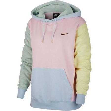 Bluza damska Nike NSW PO Hoodie BB LBR Swoosh kolorowa DA1416 663
