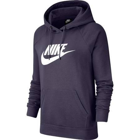 Bluza damska Nike Nsw Essential Hoodie Po fioletowa BV4126 574