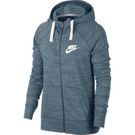 Bluza damska Nike W NSW Gym Vintage Hoodie FZ morska 883729 468