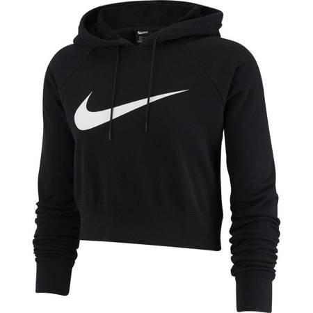 Bluza damska Nike W Swoosh Hoodie Crop FT czarna BQ9754 010