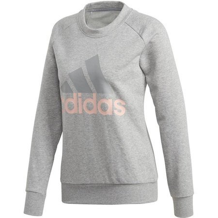 Bluza damska adidas ESS Linear Sweat szara CZ5722
