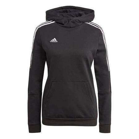 Bluza damska adidas Tiro 21 Sweat Hoody czarna GM7329