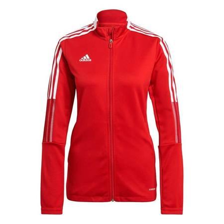 Bluza damska adidas Tiro 21 Track czerwona GM7305
