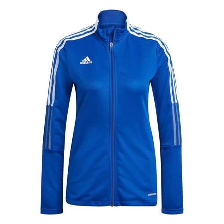 Bluza damska adidas Tiro 21 Track niebieska GM7304