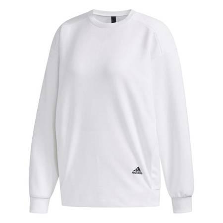 Bluza damska adidas W MHE SWT CRE biała FM5260
