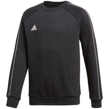 Bluza dla dzieci adidas Core 18 Sweat Top JUNIOR czarna CE9062