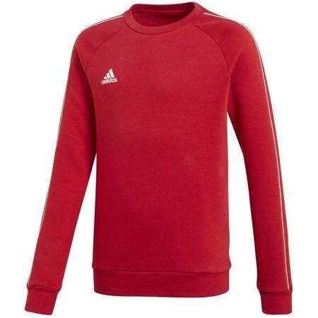 Bluza dla dzieci adidas Core 18 Sweat Top JUNIOR czerwona CV3970