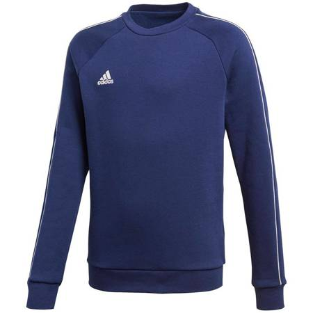 Bluza dla dzieci adidas Core 18 Sweat Top JUNIOR granatowa CV3968