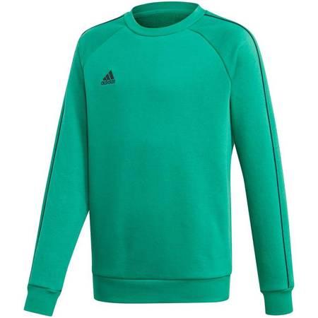 Bluza dla dzieci adidas Core 18 Sweatshirt zielona FS1900