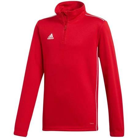 Bluza dla dzieci adidas Core 18 Training Top JUNIOR czerwona CV4141