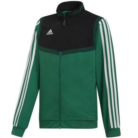 Bluza dla dzieci adidas Tiro 19 Presentation Jacket JUNIOR zielona DW4790