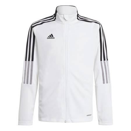 Bluza dla dzieci adidas Tiro 21 Track biała GM7313