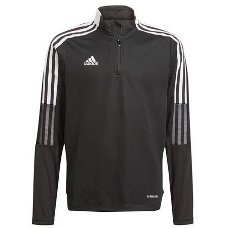 Bluza dla dzieci adidas Tiro 21 Training Top Youth czarna GM7325
