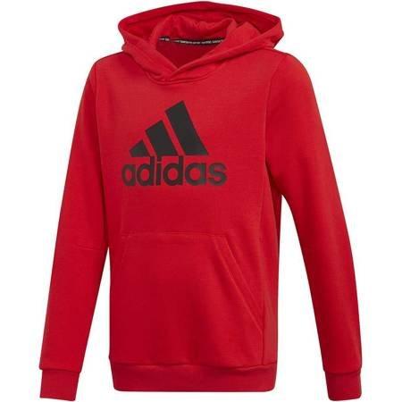 Bluza dla dzieci adidas YB MH Bos PO czerwona FM6464