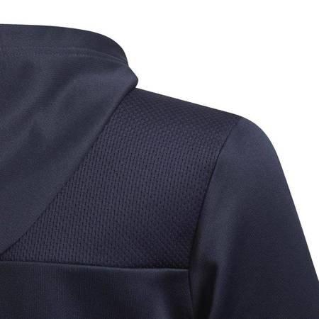 Bluza dla dzieci adidas Youth Boys Training 3 Stripes Fullzip granatowa EI7932