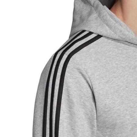Bluza męska adidas Essentials 3 Stripes Fullzip szara DU0473