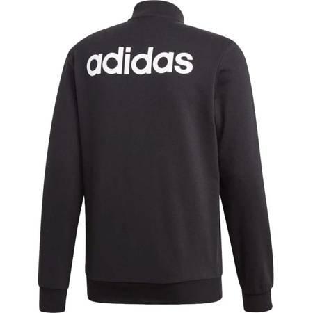 Bluza męska adidas Essentials Linear czarna DU0415