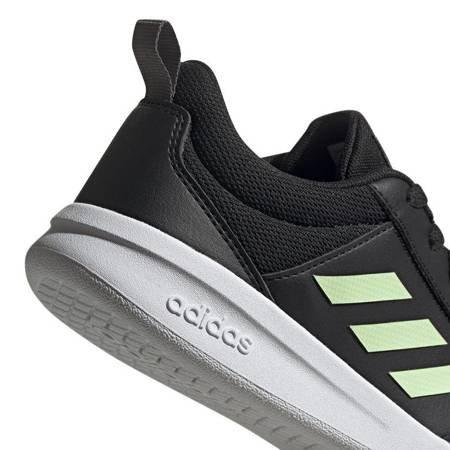 Buty dla dzieci adidas Tensaur K czarno-zielone EF1082