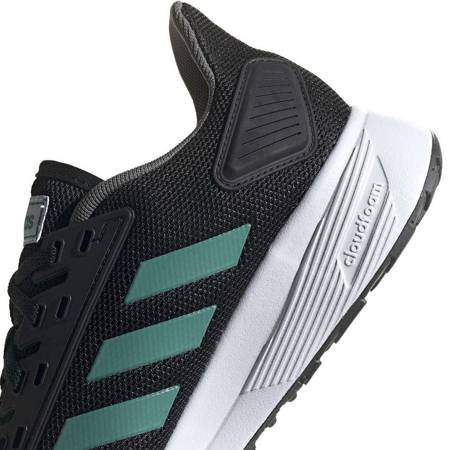 Buty męskie adidas Duramo 9 czarno-zielone EE8029