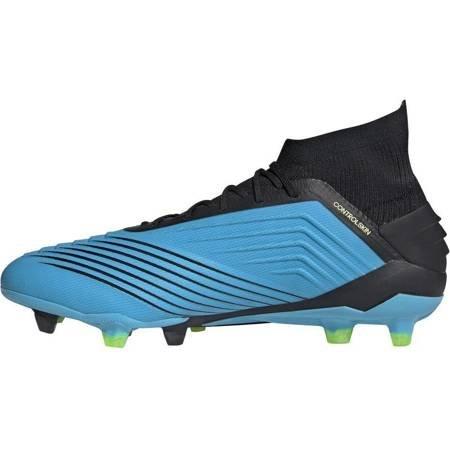 Buty piłkarskie adidas Predator 19.1 FG niebieskie F35606