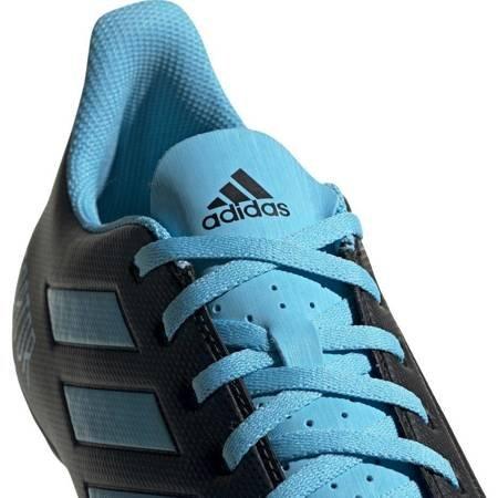Buty piłkarskie adidas Predator 19.4 FxG czarno niebieskie F35598