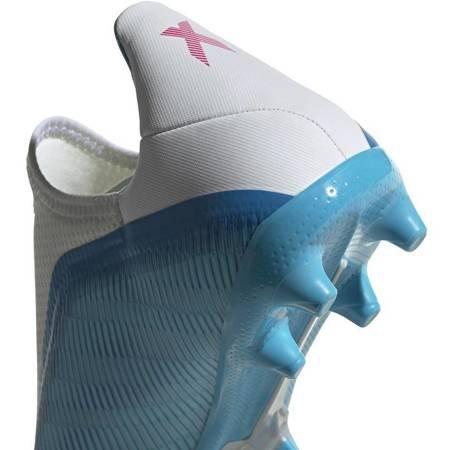 Buty piłkarskie adidas X 19.3 LL FG niebieskie EF0598