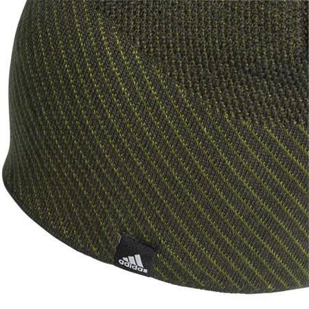 Czapka męska adidas Climaheat Beanie Full OSFL zielona DZ6196