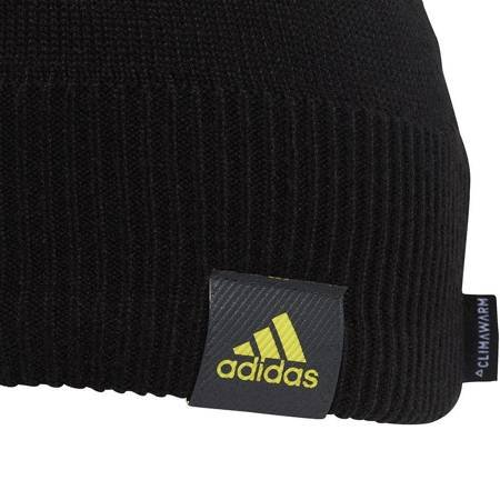 Czapka męska adidas Manchester United Beanie CL OSFM czarna DY7698