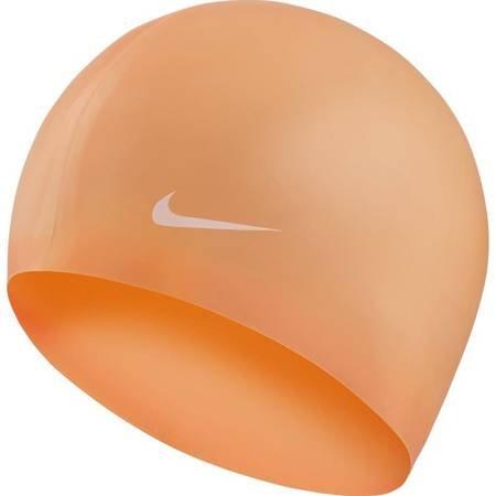 Czepek pływacki Nike Os Solid pomarańczowy 93060-849
