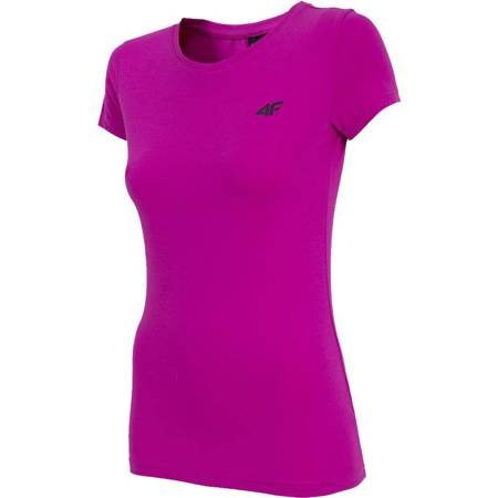 Koszulka damska 4F ciemny róż H4Z19 TSD001 53S