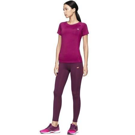 Koszulka damska 4F ciemny róż H4Z19 TSDF002 53S