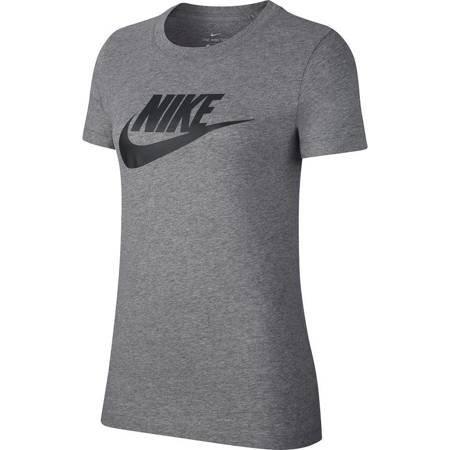 Koszulka damska Nike Tee Essential Icon Future szara BV6169 063