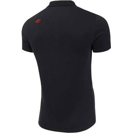 Koszulka męska 4F głęboka czerń H4Z19 TSM010 20S