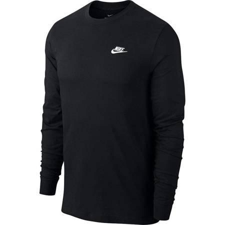 Koszulka męska Nike Club Tee LS czarna AR5193 010