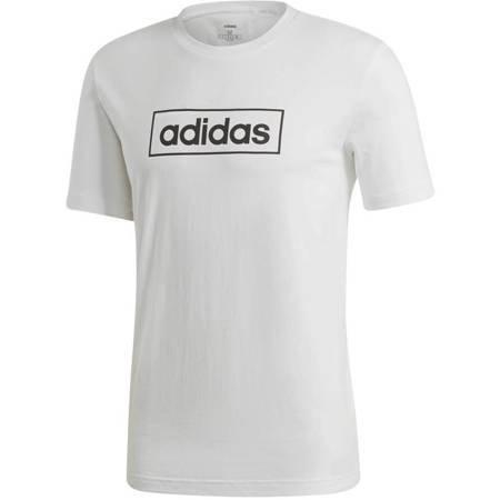 Koszulka męska adidas M Box Graphic Tee 3 biała EI4604