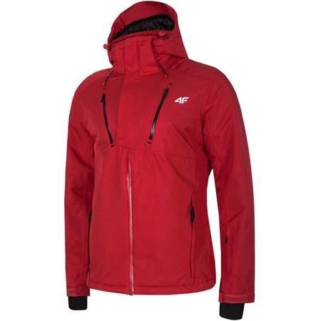 Kurtka narciarska męska 4F czerwona H4Z19 KUMN072 62S