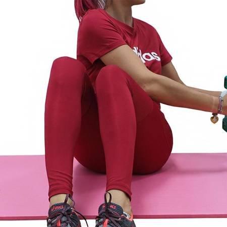 Legginsy damskie adidas Alpha Skin Sport Tight LT czerwone DX7566