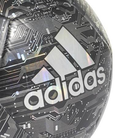 Piłka nożna adidas Capitano czarna DY2568