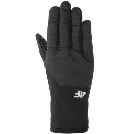 Rękawiczki zimowe 4F głęboka czerń H4Z19 REU066 20S