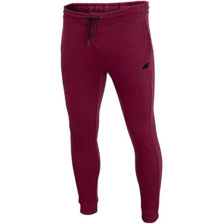 Spodnie męskie 4F burgund melanż H4Z19 SPMD001 60M